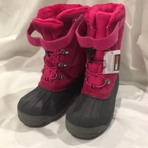 Land's End Fuchsia Snow Boots